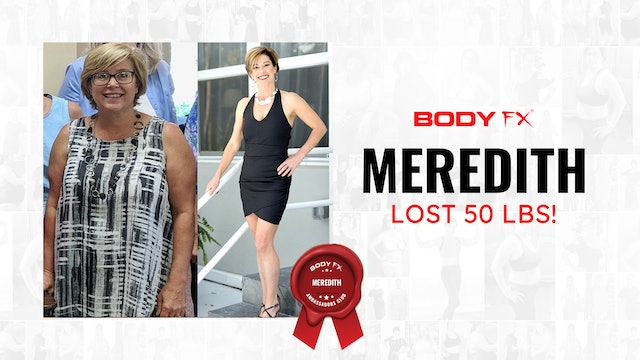 Meredith Lost 50 LBS!