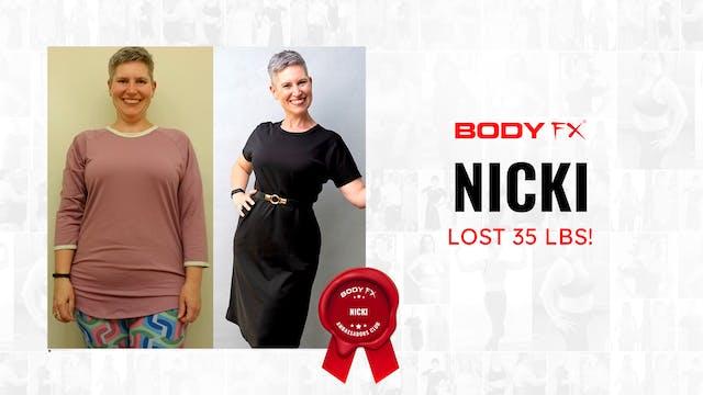 Nicki Lost 35 LBS!