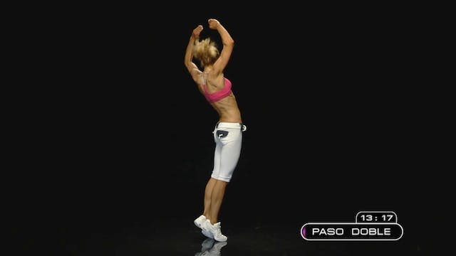 Figure 8 Basic: Core Cardio Burn Back View