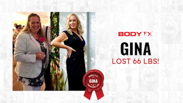 Gina Lost 66 LBS!