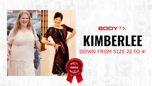 Kimberlee Down From Size 22 to 4!