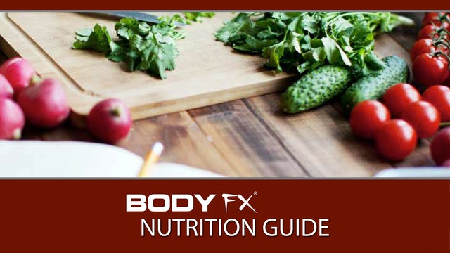 BODY FX Nutrition Guide