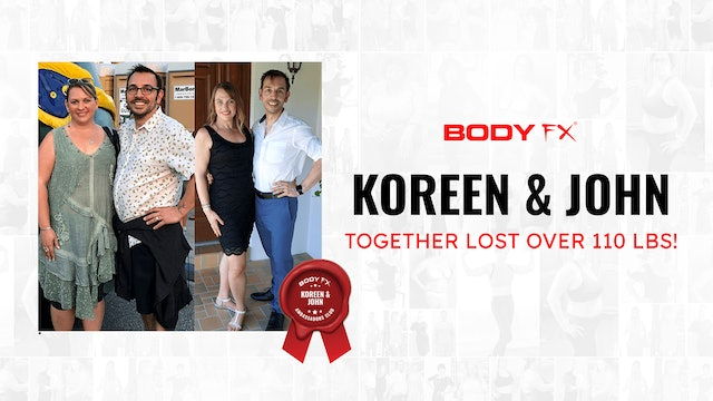 Koreen & John Together Lost Over 110 LBS!