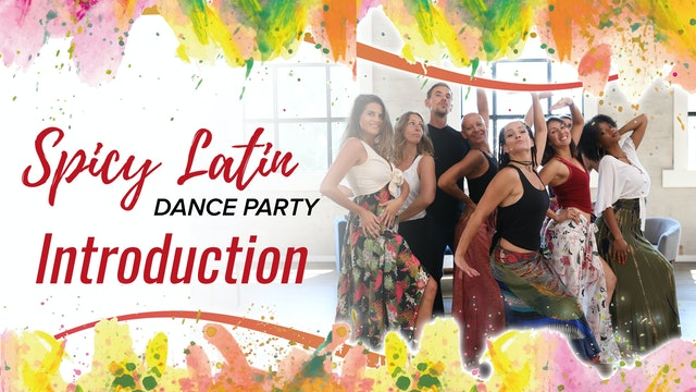 Spicy Latin Dance Party Introduction
