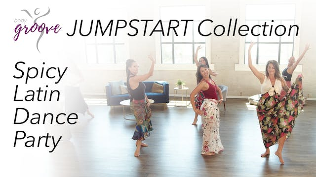 Body Groove Jumpstart Collection - Spicy Latin Dance Party