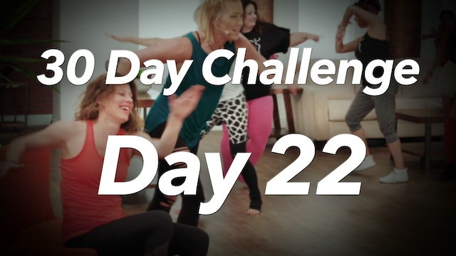 30 Day Challenge - Day 22 Workout