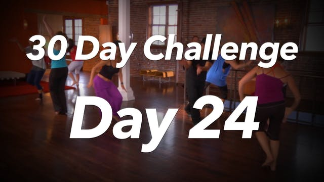 30 Day Challenge - Day 24 Workout