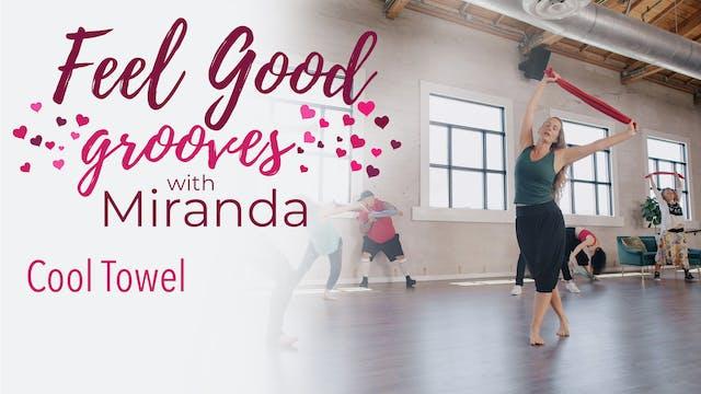 Feel Good Grooves - Cool Towel