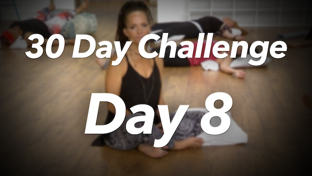 30 Day Challenge - Day 8 Workout