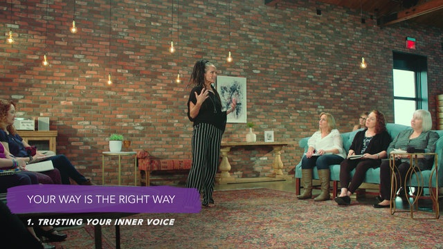 Discover Your Groove Module 6 Section 1. Trusting Your Inner Voice