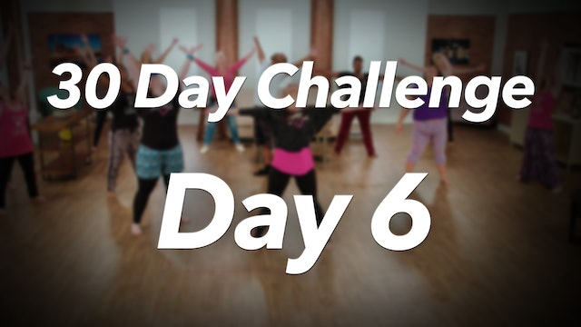 30 Day Challenge - Day 6 Workout