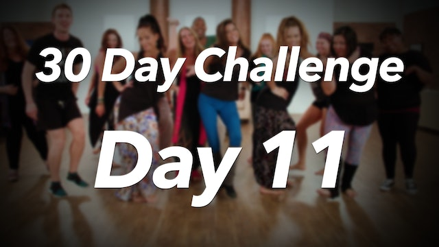 30 Day Challenge - Day 11 Workout