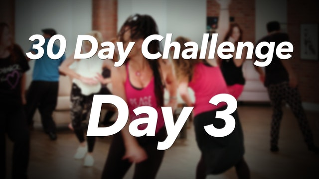 30 Day Challenge - Day 3 Workout