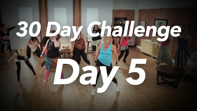 30 Day Challenge - Day 5 Workout