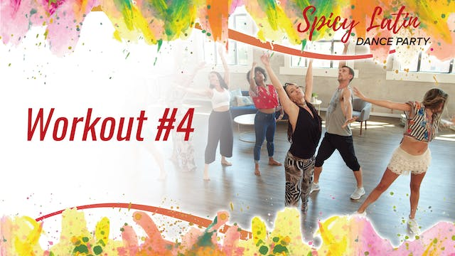 Spicy Latin Dance Party Workout 4