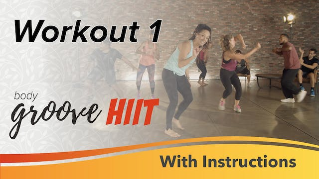HIIT Workout 1 with Instructions