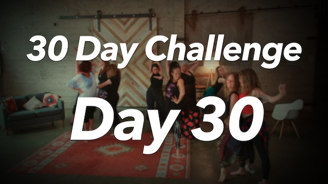 30 Day Challenge - Day 30 Workout