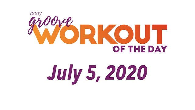 Workout for July 5, 2020