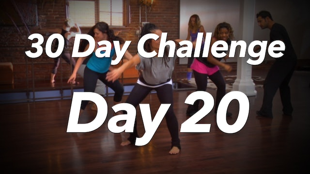 30 Day Challenge - Day 20 Workout