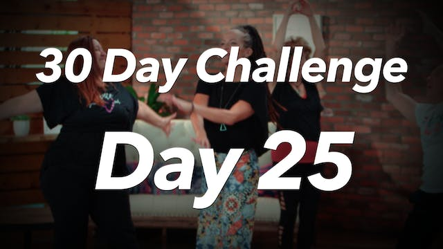 30 Day Challenge - Day 25 Workout