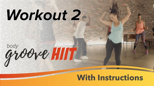 HIIT Workout 2 with Instructions