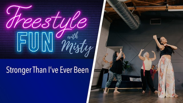 Freestyle Fun - Stronger Than I've Ever Been
