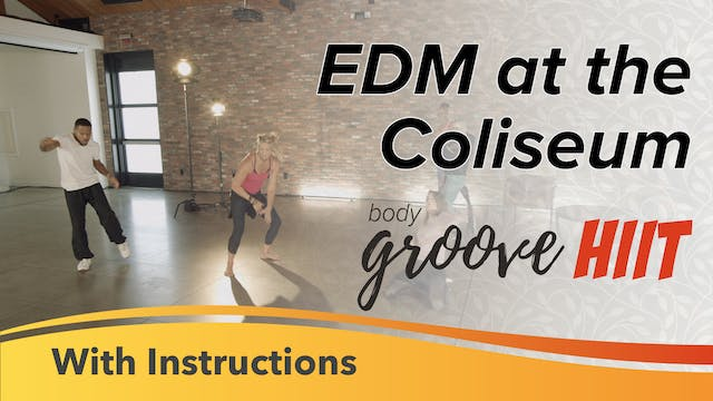 EDM at the Coliseum with Instructions