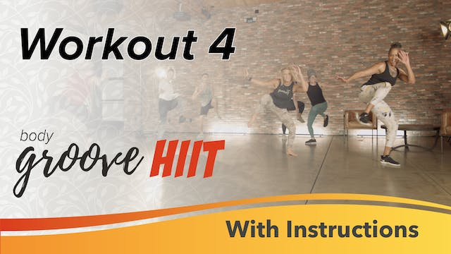 HIIT Workout 4 with Instructions