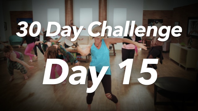 30 Day Challenge - Day 15 Workout