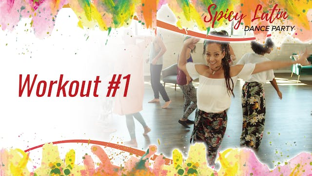 Spicy Latin Dance Party Workout 1
