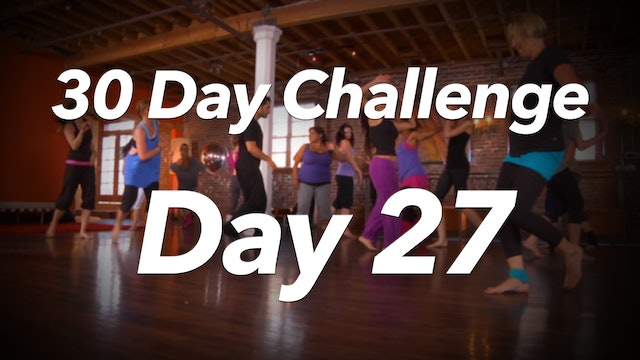 30 Day Challenge - Day 27 Workout