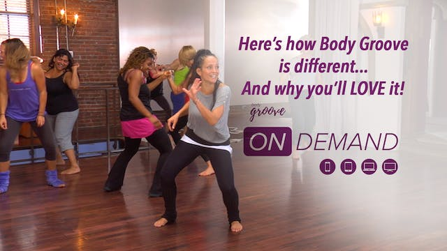 Here's how Body Groove is different -...