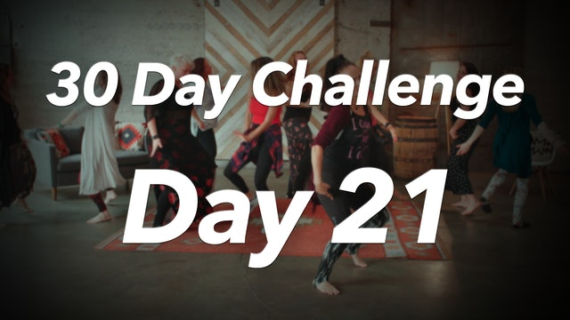 30 Day Challenge - Day 21 Workout
