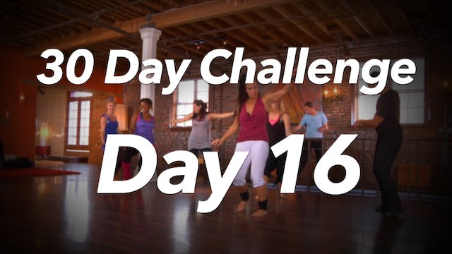 30 Day Challenge - Day 16 Workout