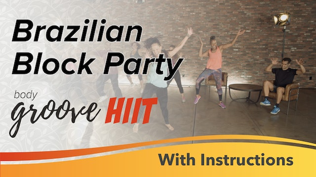 Brazilian Block Party with Instructions