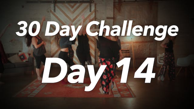30 Day Challenge - Day 14 Workout