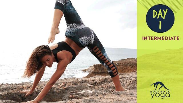 BodyRock Yoga   Intermediate   Day 1