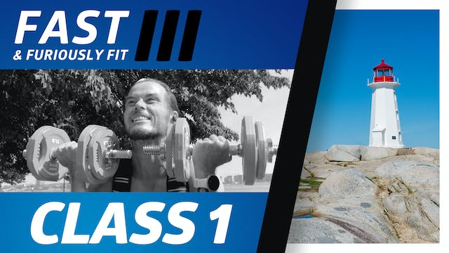 Fast And Furiously Fit  3 - Workout 1