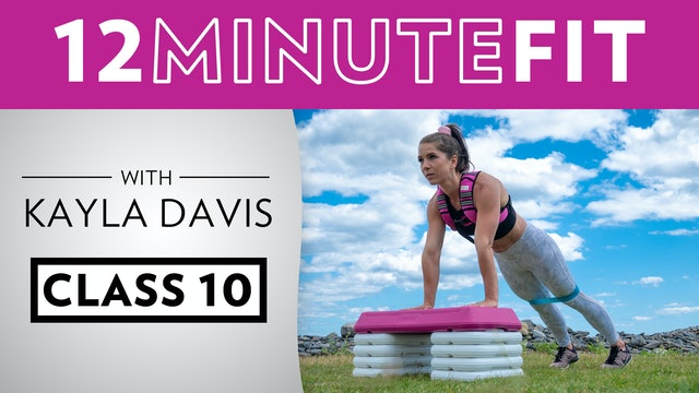 12 Minute Fit - Workout 10