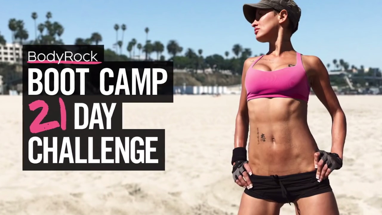BodyRock Beach Bootcamp - 21 Day Challenge