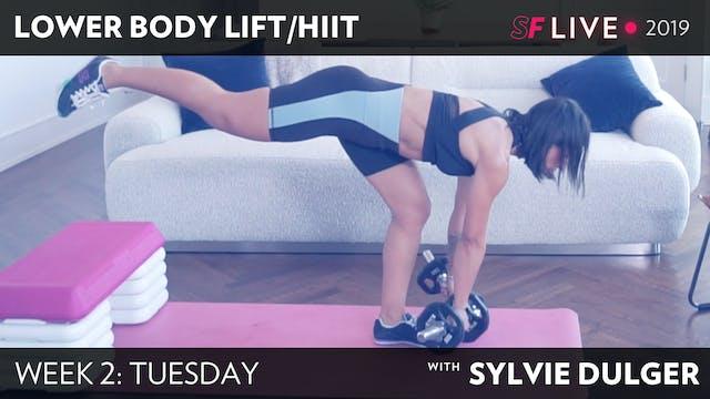 TUES: Lower Body LIFT/HIIT - SFL2019