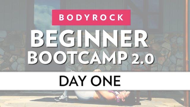 BodyRock Bootcamp - Day 1