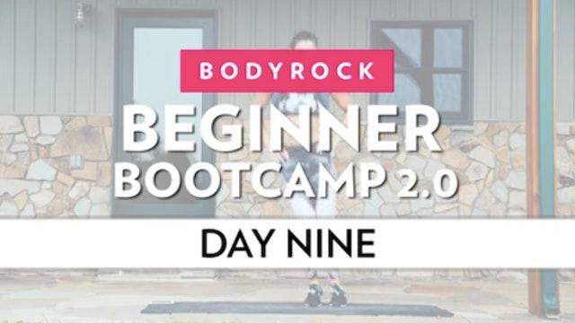 BodyRock Bootcamp - Day 9