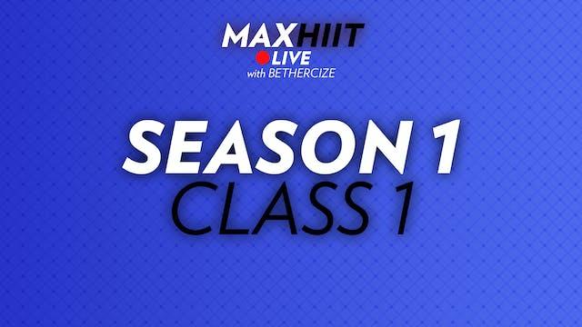 MaxHiit LIVE | Season 1 - Class 1