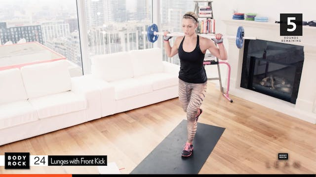 BodyRock Lean | Workout 8 Bonus - Leg...