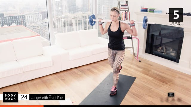 BodyRock Lean | Workout 8 Bonus - Legs & Ass