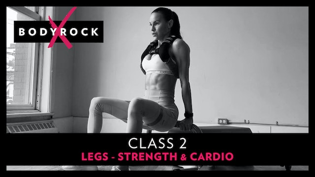 BRX 2 - Legs - Strength & Cardio - Buy In Reps