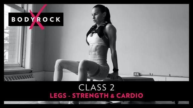 BRX #2 - Legs - Strength & Cardio - B...
