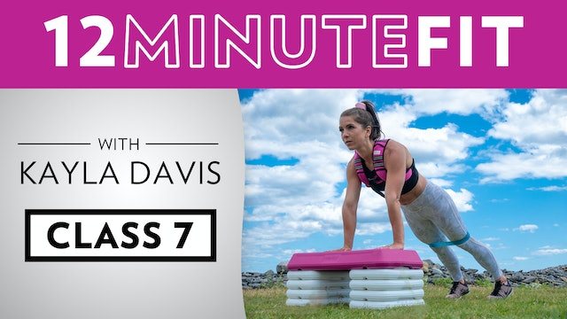 12 Minute Fit - Workout 7