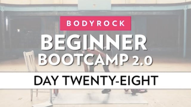 BodyRock Bootcamp - Day 28